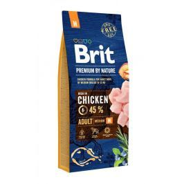 BRIT dog Premium By Nature ADULT M - 15kg