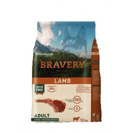BRAVERY dog ADULT large / medium LAMB - 4 kg