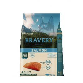 BRAVERY dog ADULT large / medium SALMON - 4 kg