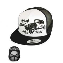 BLACKHEART Coupe 32 Trucker bílá