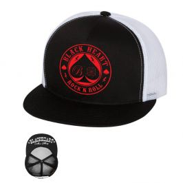 BLACK HEART Ace Of Spades Trucker bílá