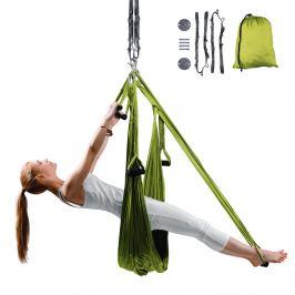 inSPORTline Hemmok zelená s držáky a lany