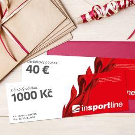 inSPORTlineNotEX Dárkový poukaz - 1.000 Kč pro nákup na eshopu
